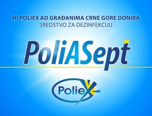 Poliex donirao 22 hiljade litara dezinfekcionog sredstva