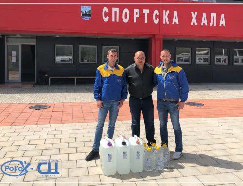 Donacija Sportskom centru Berane