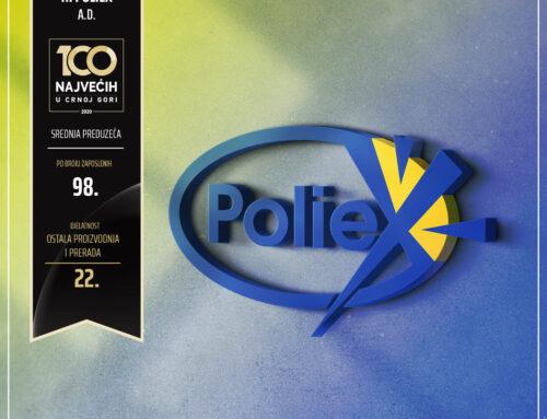 POLIEX još jednom među 100 najvećih